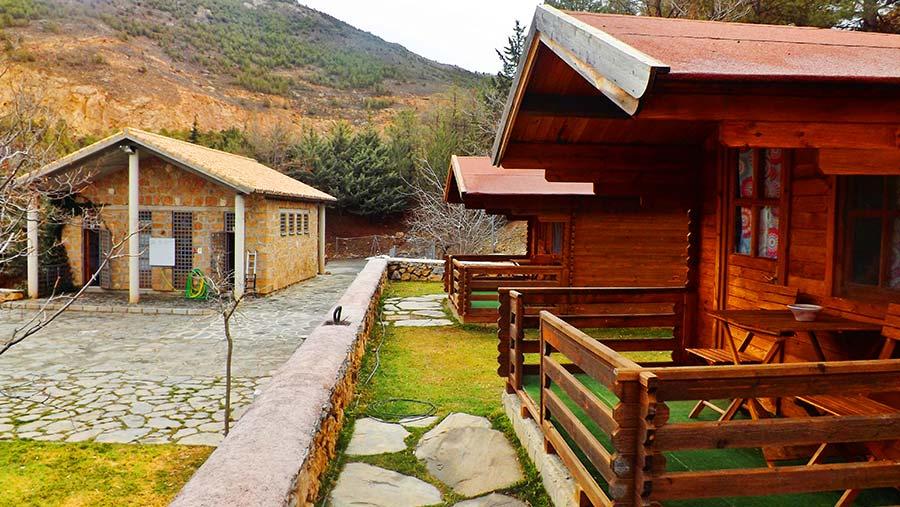 Cabaña para 2 o 3 personas - exterior