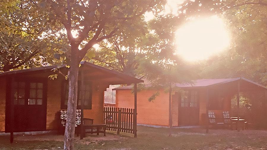 Cabaña para 6 o 7 personas - exterior
