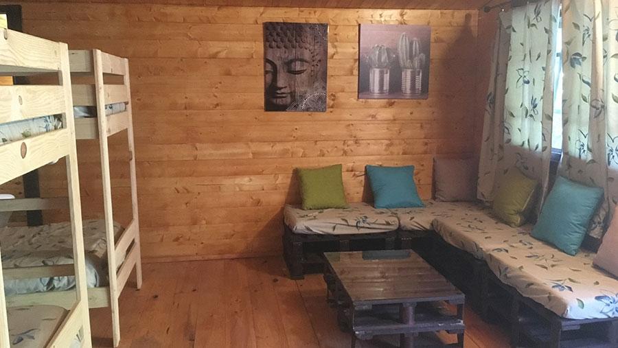 Cabaña para 6 o 7 personas - interior