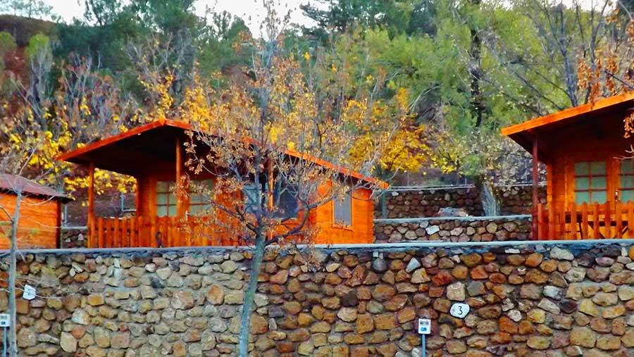 Cabaña para 4 o 5 personas - exterior